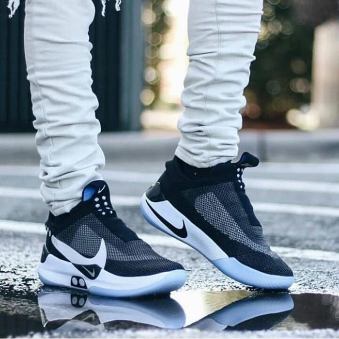 Jual Nike Adapt Bb Mag Black White Hitam 39 Jakarta Utara Sepatukita 79 Tokopedia