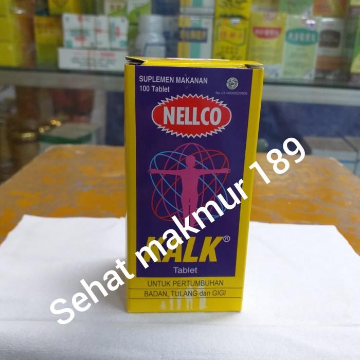 Foto Produk KALK NELLCO ( KALSIUM PERTUMBUHAN BADAN TULANG DAN GIGI dari Sehat Makmur 189