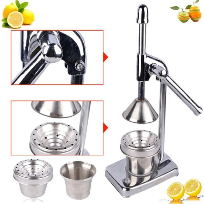 harga Alat pemeras jeruk manual - pemeras jeruk stainless / manual juicer Tokopedia.com