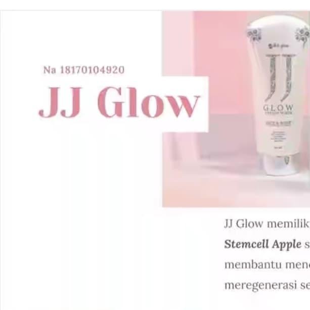 Jual Jj Glow Ms Glow Ori Jj Msglow Asli Original Jakarta Barat