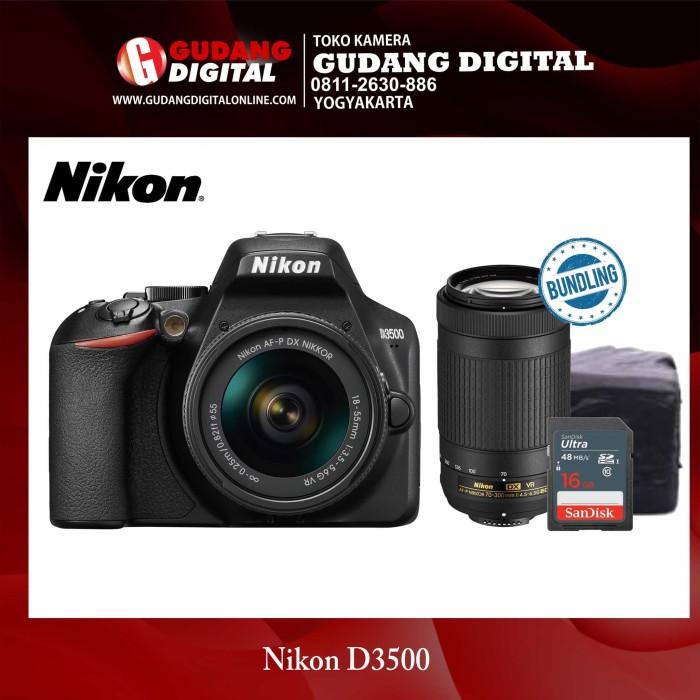 harga Kamera dslr nikon d3500 18-55mm vr Tokopedia.com