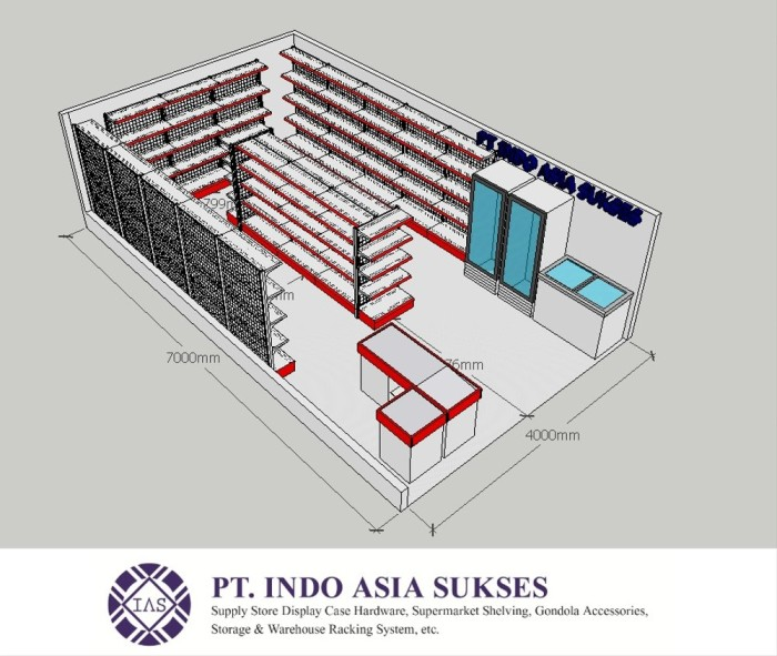 Jual Rak Minimarket Paket Luas 400 X 700cm Home Stuff Kab Sumedang Afikasari156 Tokopedia