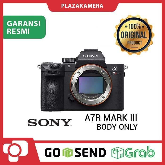 Sony a7r mark iii body only kamera mirrorless