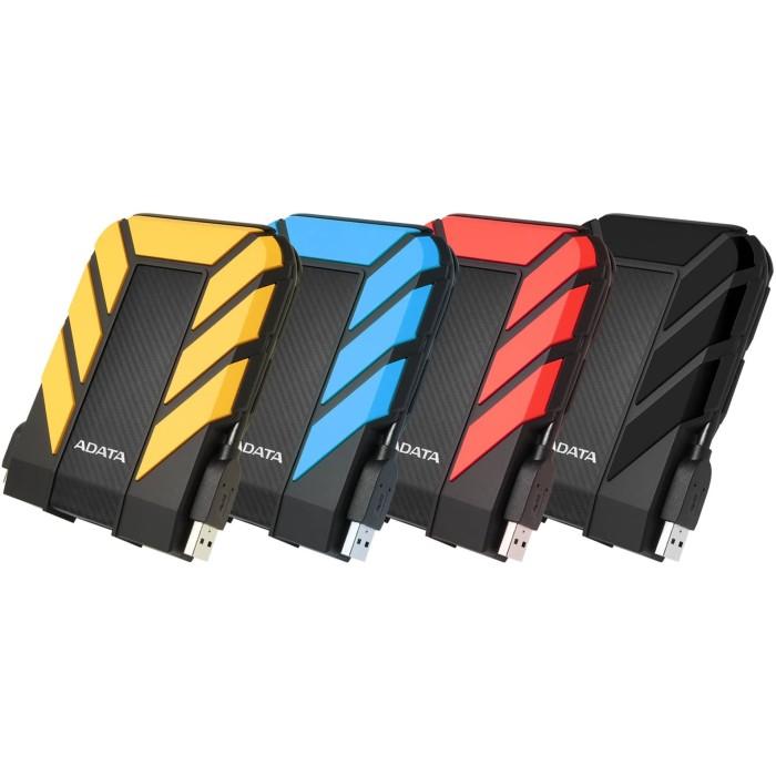ADATA HD710 PRO 2TB (Antishock & Waterproof) USB 3.2 - Black / Blue / Red / Yellow
