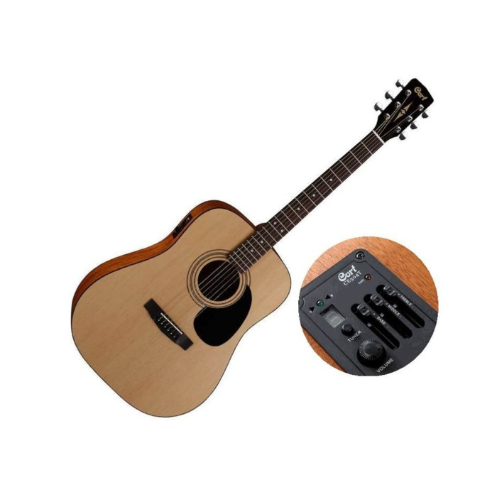harga Cort ad810e op - gitar akustik elektrik Tokopedia.com