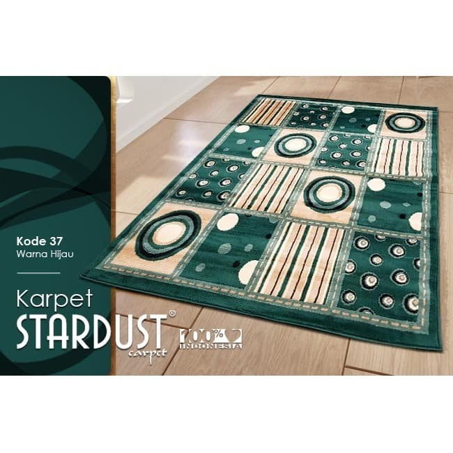 harga [carpet shop id] karpet stardust 37 green 160x210 Tokopedia.com