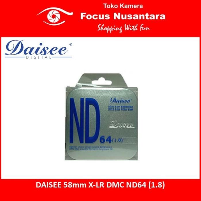 harga Daisee 58mm x-lr dmc nd64 (1.8) Tokopedia.com