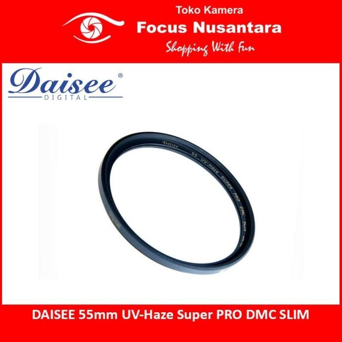 harga Daisee 55mm uv-haze super pro dmc slim Tokopedia.com