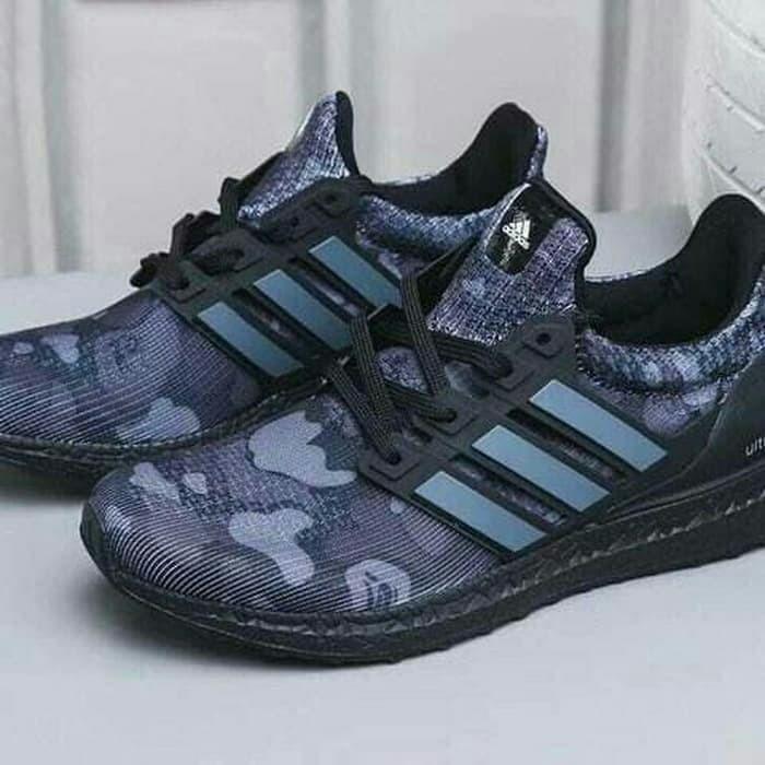 Jual Sepatu Adidas Ultra Boost 4 0 Bape Black Camo Premium Quality Jakarta Selatan Good Sneakers Tokopedia