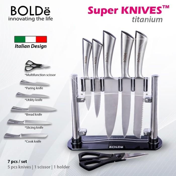 Foto Produk Bolde Super Knife Set Titanium dari BOLDe Official Store