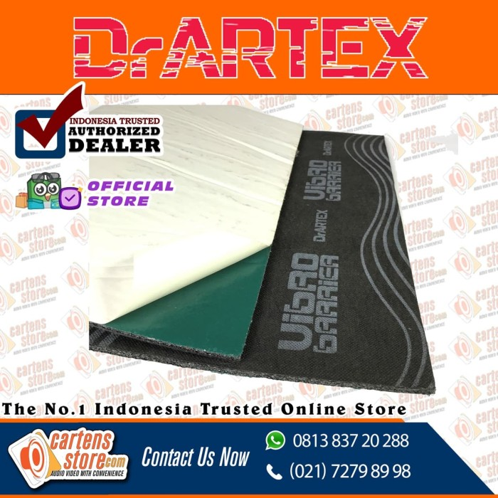 harga Peredam suara dr artex vibro barrier (with glue) 7mm by cartens store Tokopedia.com