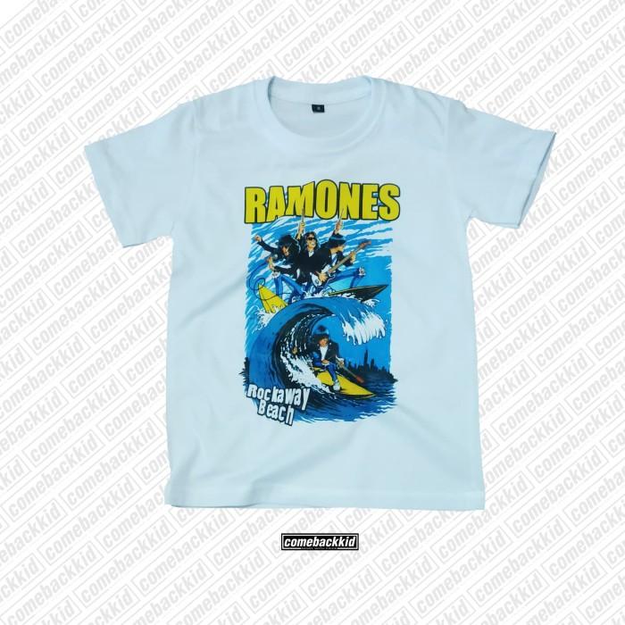 Foto Produk kaos band anak baju band anak - Ramones dari comebackkid.id