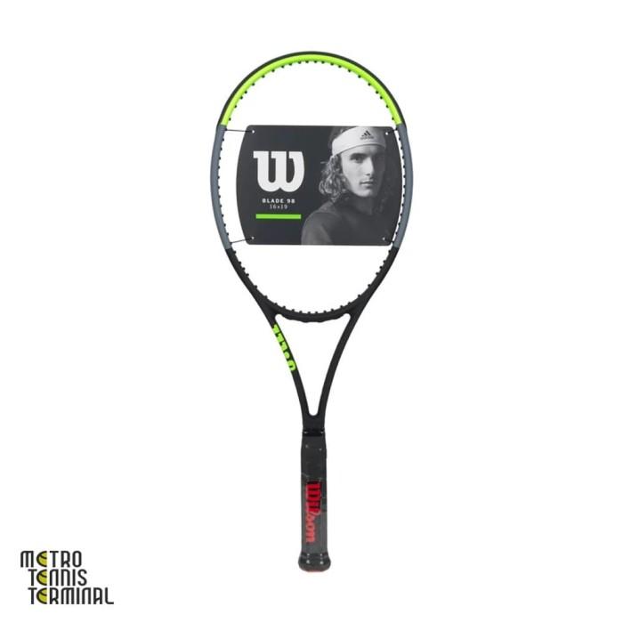 Jual Wilson Blade 98 16x19 v7 2019 Black / Green ( Raket Tenis ) - DKI  Jakarta - Metro Tennis Terminal - OS | Tokopedia
