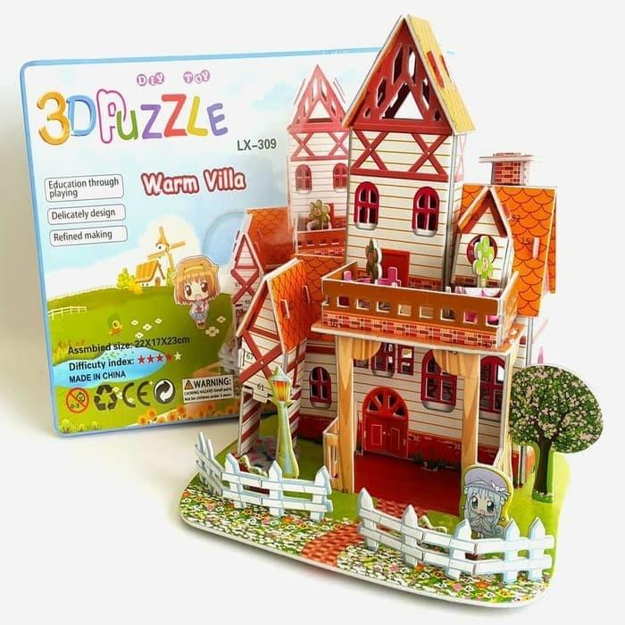 Foto Produk 3D Puzzle Mainan Edukatif dari Yoi. store