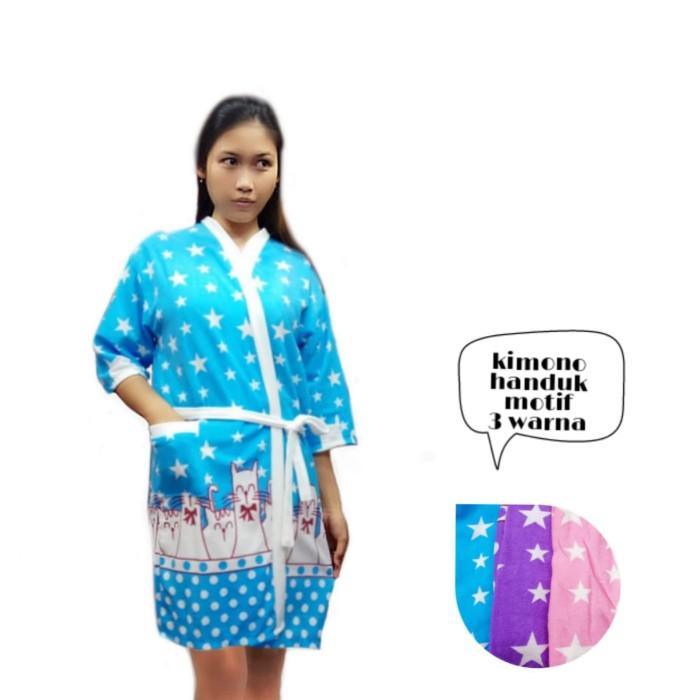 Foto Produk handuk kimono - Ungu dari MR Colection Bandung