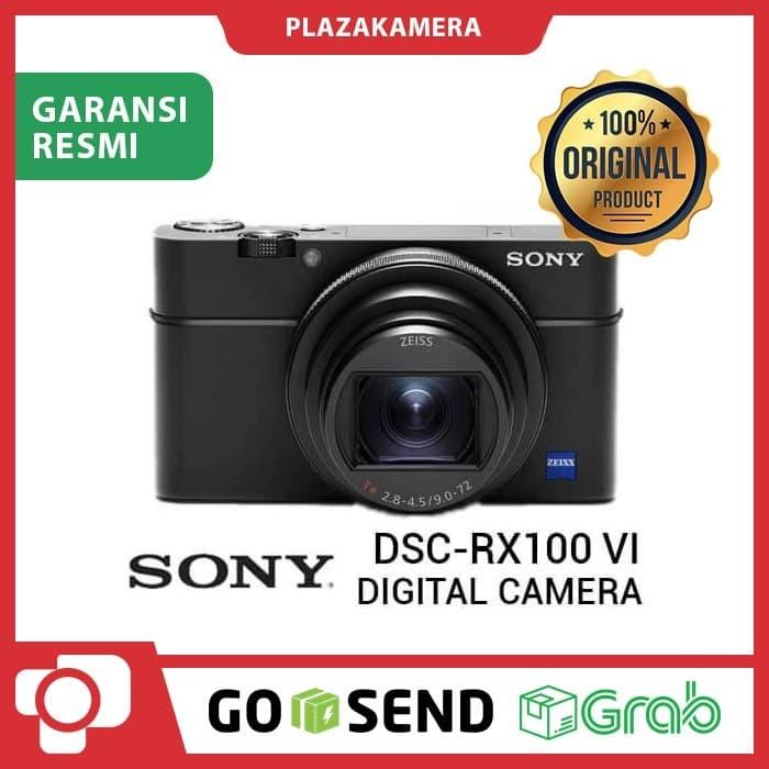 Sony dsc-rx100 vi kamera digital