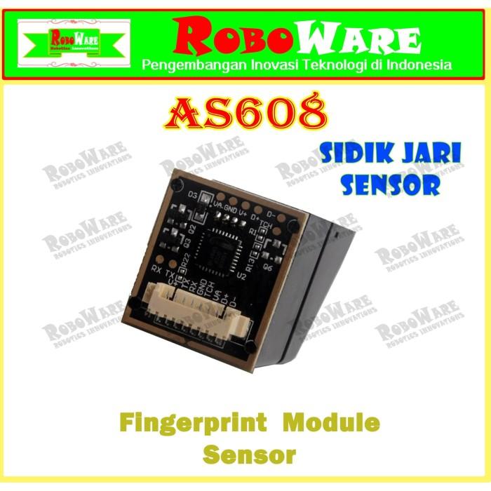 Jual Fingerprint Sensor AS608 Module Optical Sidik Jari Finger Print +Kabel  - DKI Jakarta - RoboWare | Tokopedia