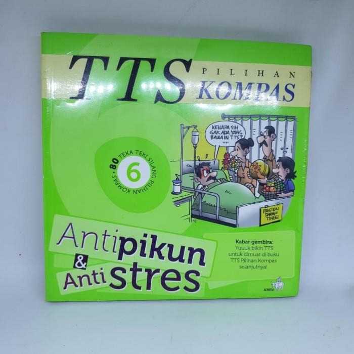 Jual Tts Kompas No 6 Antipikun Amp Antistres 80 Teka Teki Silang Pilihan Komp Kota Pekanbaru Comic Paradise Tokopedia