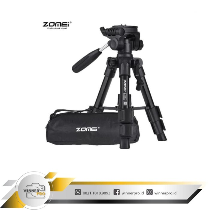 harga Zomei q100 professional dslr mini Tokopedia.com