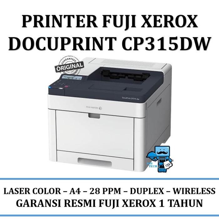 Jual Printer Laser Color Fuji Xerox DocuPrint CP315DW / CP 315 DW - Resmi -  DKI Jakarta - Das Livia Computer   Tokopedia