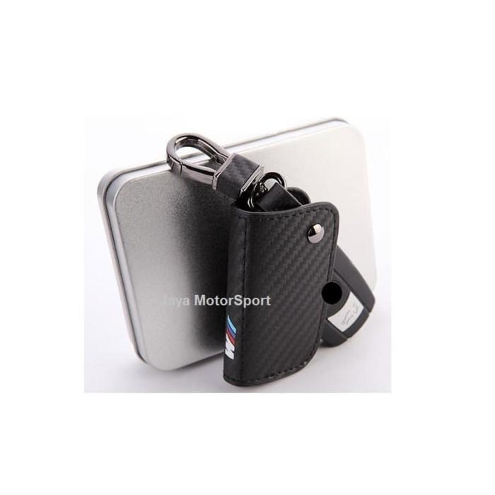 Foto Produk 1 Pcs Carbon Fibre Car Key Holder Wallet for BMW M - Model A dari Jaya Motorsport