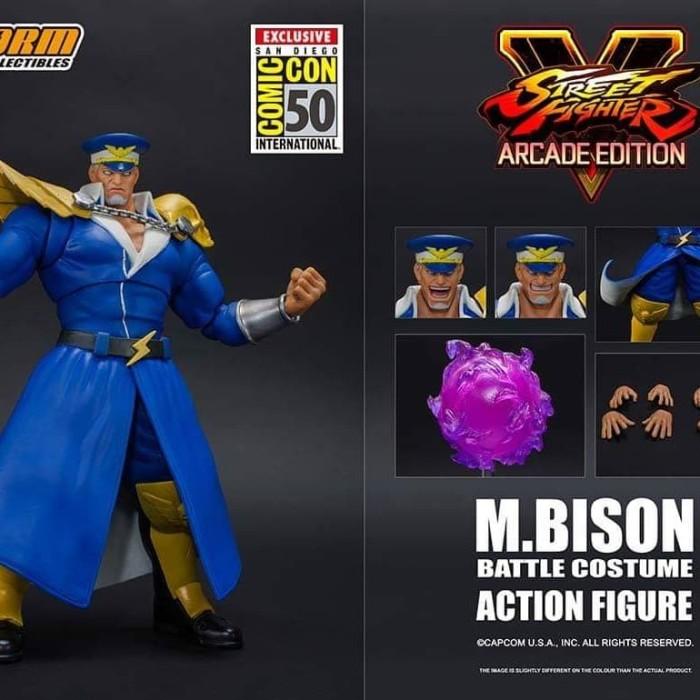 Jual Storm Collectibles M Bison Bison Sdcc 2019 Street Fighter V