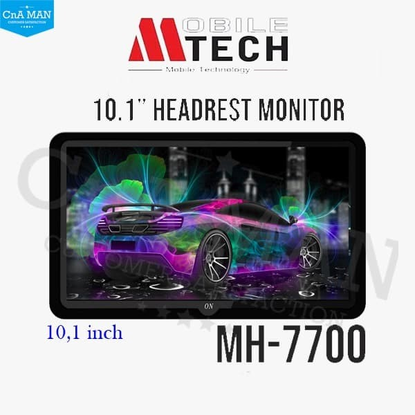harga Monitor head rest mtech 10 inch clip on monitor only headrest Tokopedia.com
