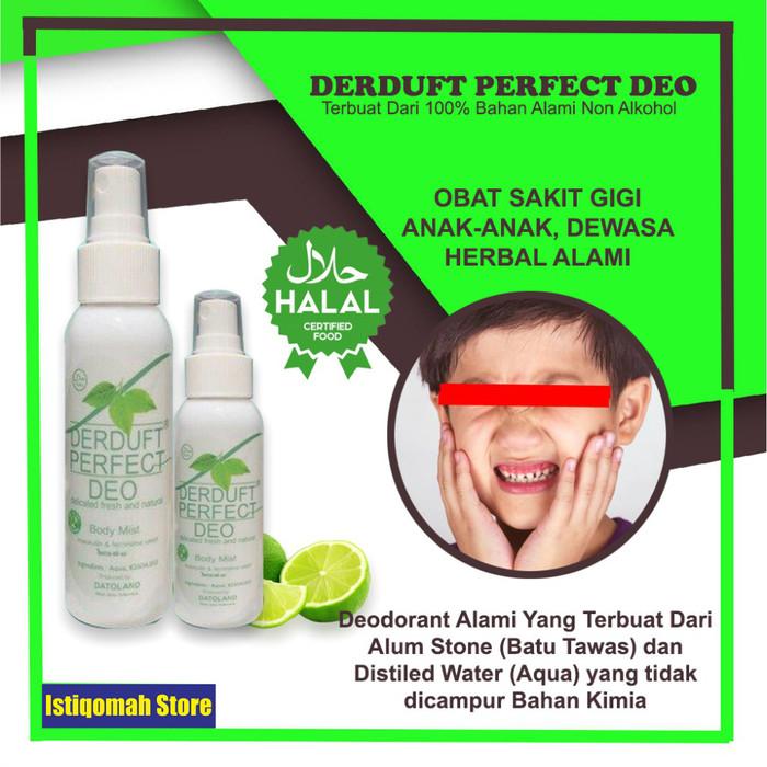 Foto Produk Obat Sakit Gigi Berlubang untuk Anak & Dewasa - DERDUFT PERFECT DEO dari Istiqomah-Store
