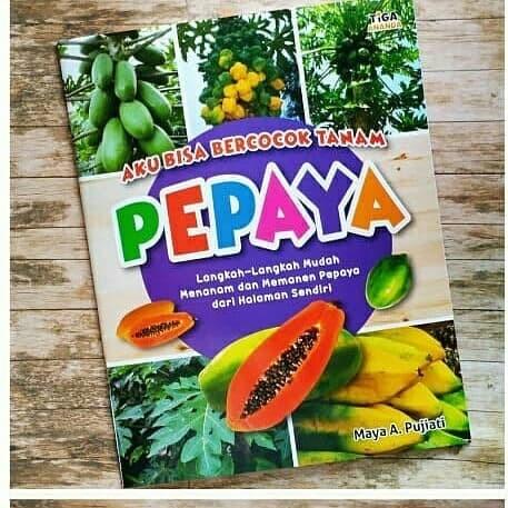 Foto Produk Buku Cara Menanam Pepaya untuk Anak dan Remaja dari Taman Lestari