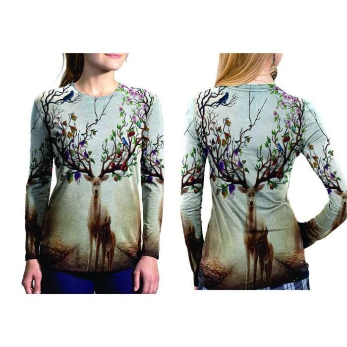 T Shirt Wanita Lengan Panjang New Roblox 3d Fullprint Sublimation Jual Baju Lengan Panjang Wanita Dewasa Deer 3d Fullprint Sublimation Kab Bandung Customkeep Tokopedia