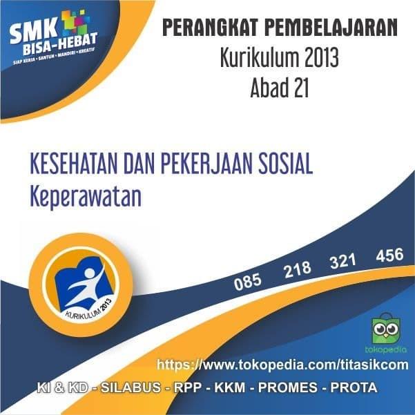 Foto Produk RPP SMK MAK Abad21 Produktif Jurusan Kesehatan dan Perkerjaan Sosial dari ti Tasik Com