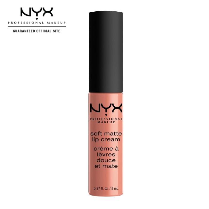 harga Nyx professional makeup soft matte lip cream 02 stockholm - lipstik Tokopedia.com