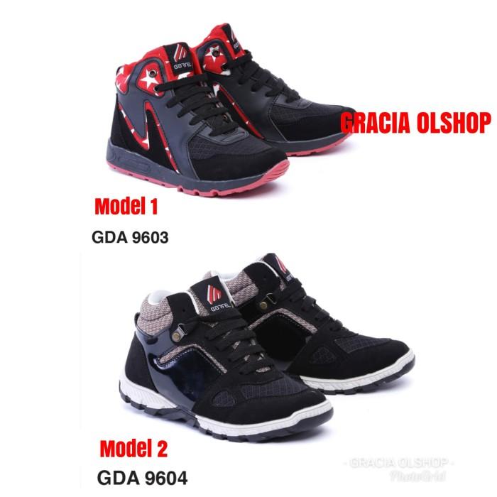 Jual Gda 9603 Sepatu Boot Anak Cowok Garsel Sepatu Sneakers Anak
