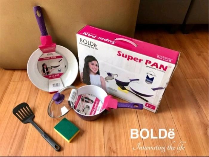 Foto Produk BOLDe Super Pan Granite Set Purple 5 Pcs ORIGINAL BARU home equipment dari yantin10