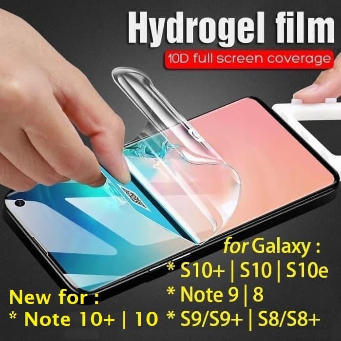 Foto Produk HYDROGEL Anti Gores Galaxy S10+|S10|S10e|Note X 10 9 8 S9 S8 plus lite dari Bro Papao