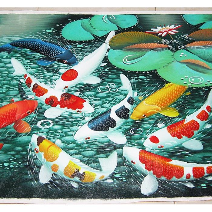 Jual Lukisan Ikan Koi 9 Motif Menarik - Kota Denpasar ...