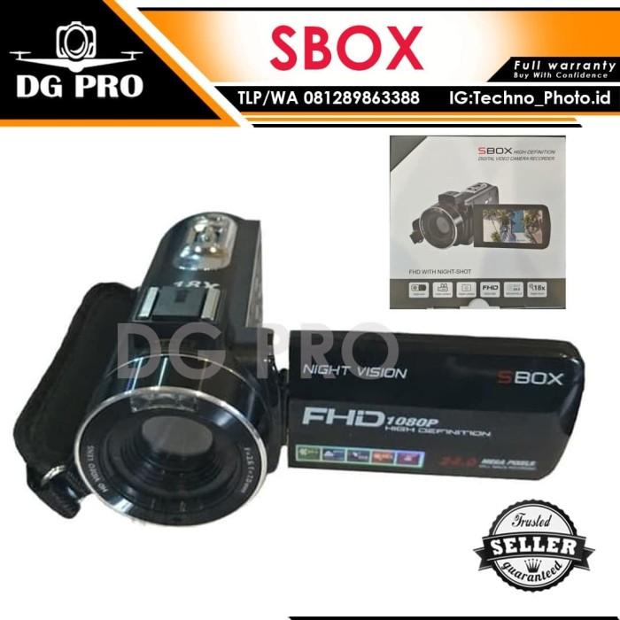 harga Handycam sbox 24mp full hd with night shot - camcorder infrared hdmi Tokopedia.com