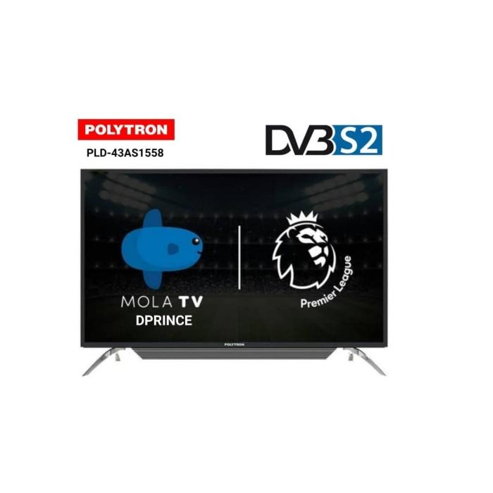 harga Polytron pld-43as1558 led mola smart tv [43 inch] Tokopedia.com
