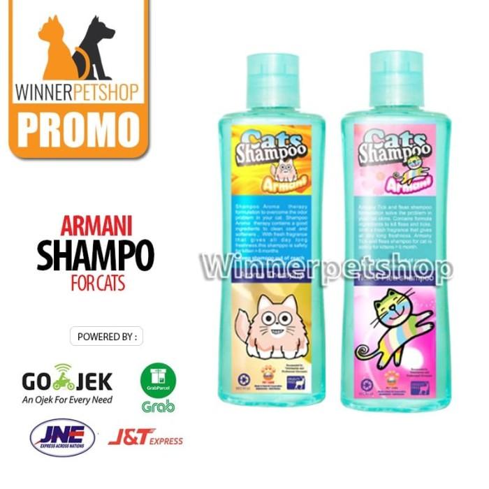 Jual Armani Flea Tick Cat Shampo Kutu Raid Kucing 200ml Shampoo Kucing Kota Tangerang Winner Petshop Tokopedia