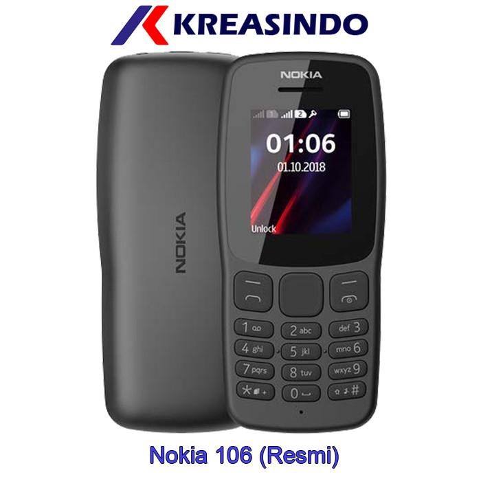 harga Nokia 106 (2018) dual sim garansi resmi Tokopedia.com