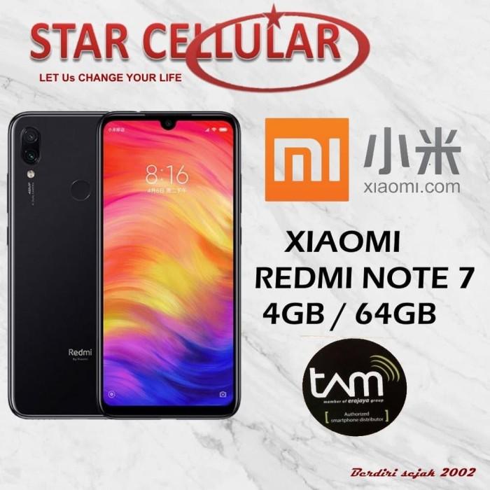 harga XIAOMI REDMI NOTE 7 4/64GB HITAM - TAM Tokopedia.com
