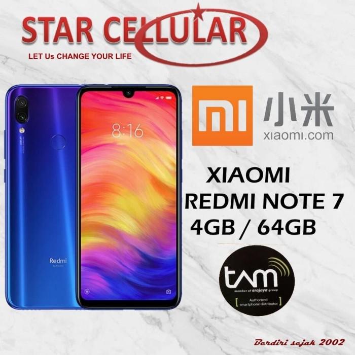harga XIAOMI REDMI NOTE 7 4/64GB BIRU TAM Tokopedia.com