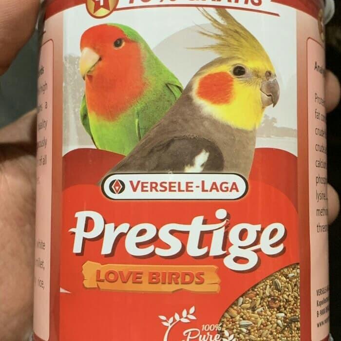 Jual Prestige Lovebird Pakan Impor Kota Bandung De Hydros Tokopedia