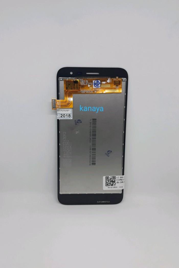 Foto Produk LCD SAMSUNG J260 TOUCHSCREEN HITAM ORI J2 CORE J260F J260G dari techno phone cikarang