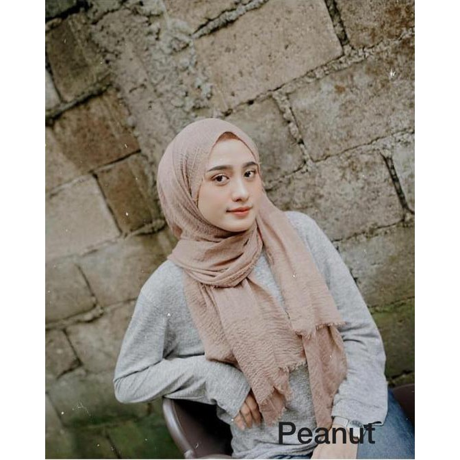 Jual Crinkle Shawl Malay Shawl Pashmina Kusut Premium Jakarta Pusat Jilbab Hijab Anshop Tokopedia