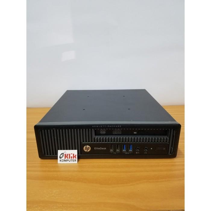 Jual HP EliteDesk 800 G1 Ultra Slim Desktop Business PC Dual Core RAM 4GB -  Kota Pekanbaru - Online Klik Trinity   Tokopedia