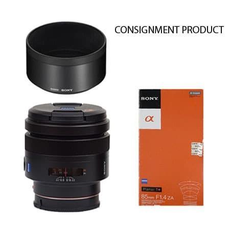 Foto Produk Sony A Mount Planar T* 85mm F/1.4 ZA (Excellent-681) Consignment dari JPC Kemang (Used)