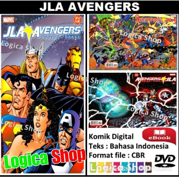 jual komik digital dc - jla avengers bahasa indonesia