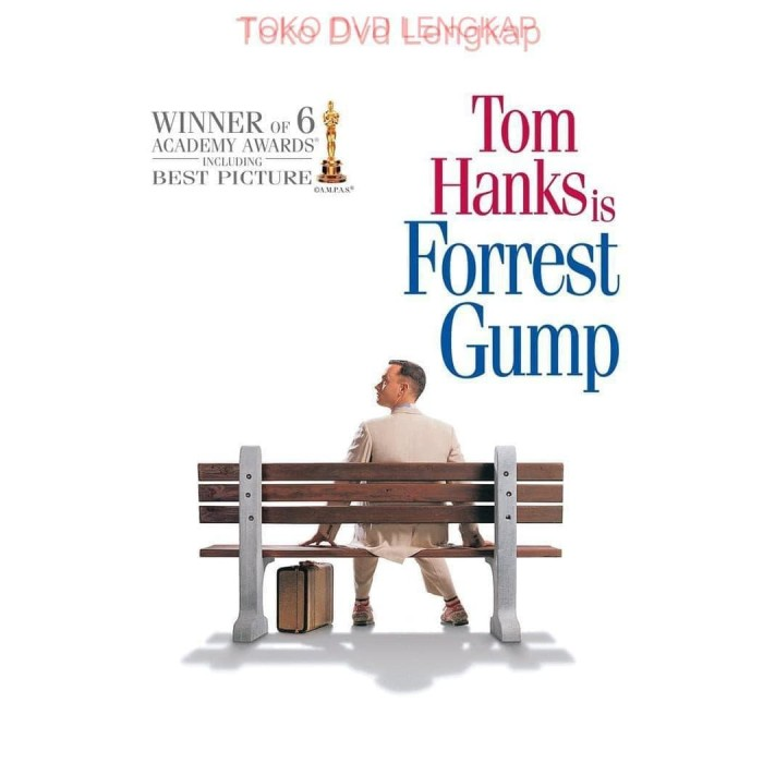 Jual Film Barat Jadul Forrest Gump 1994 Kota Tasikmalaya Toko Dvd Lengkap Tokopedia