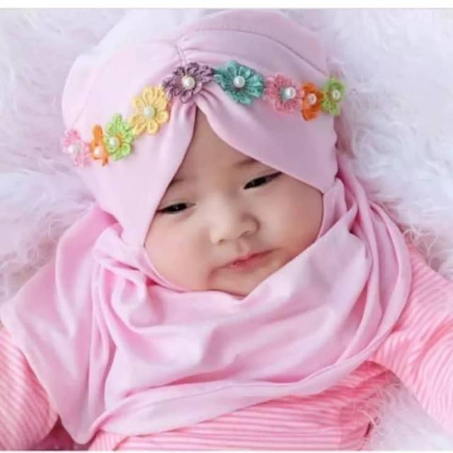 Jual Diskon Jilbab Bayi Lucu Kerudung Anak Cantik Kab
